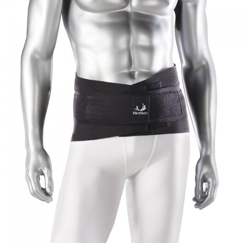 Back Belt - Bio Skin Back Skin with Flexible Support & Lumbar Pad