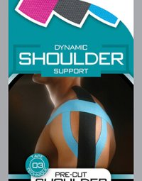 Kinesio Pre-Cut Application - Shoulder