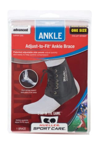 Mueller Sports Medicine Adjust-To-Fit Ankle Brace