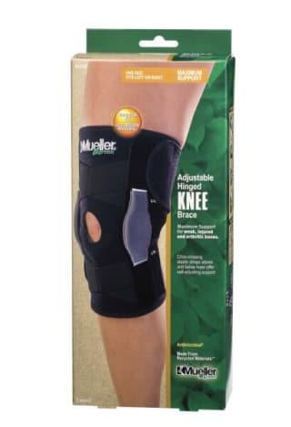 Mueller Sports Medicine Green Adjustable Knee Brace