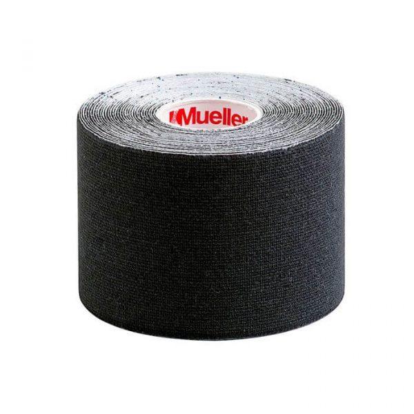 Mueller Sports Medicine Kinesiology Tape - I-Strip Roll - Black