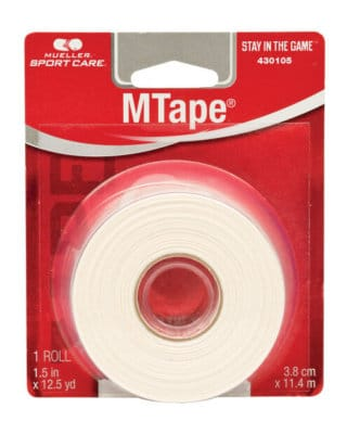 Mueller Sports Medicine MTape - Retail Packaging - White