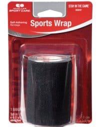 Sports wrap black
