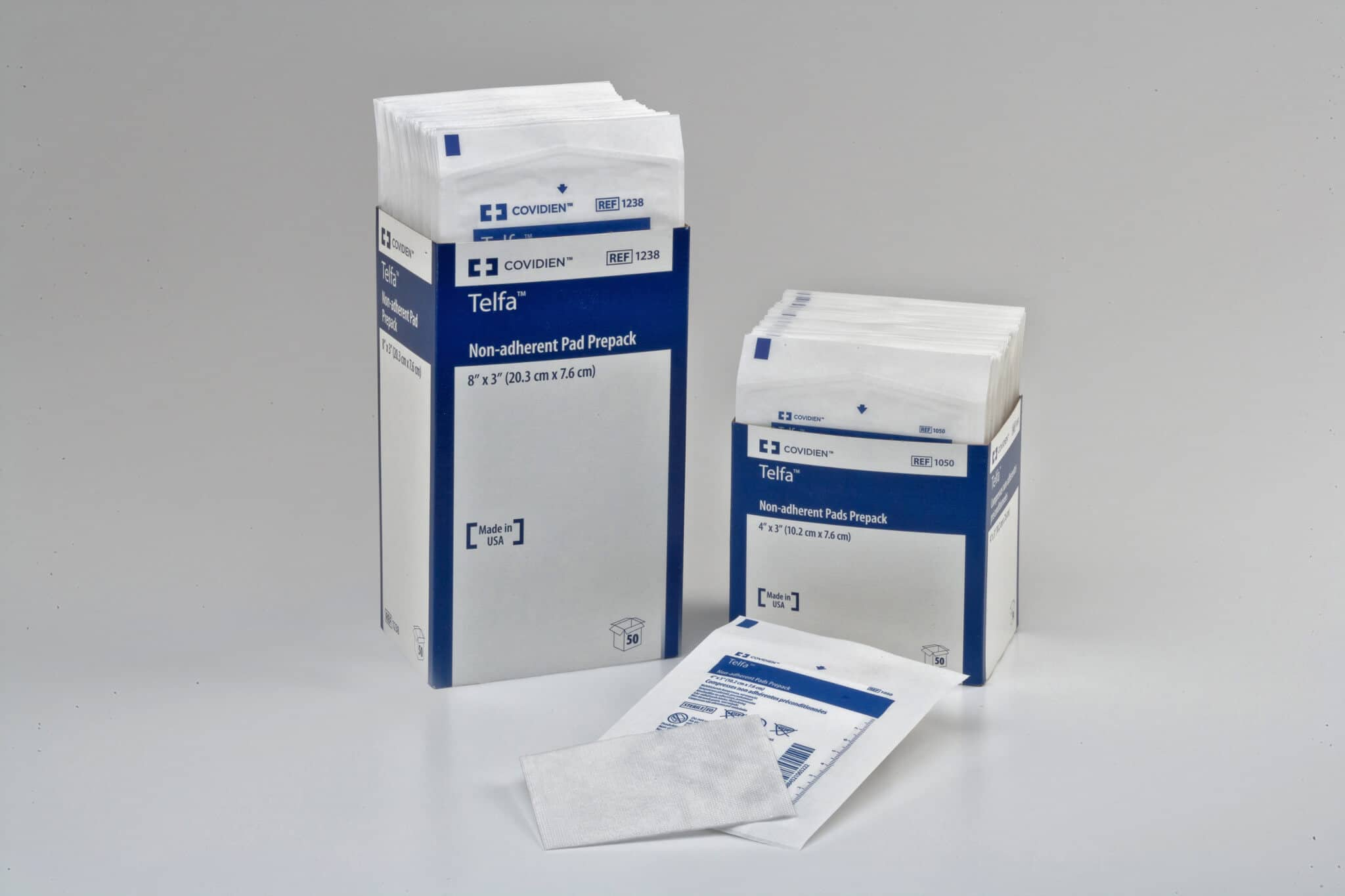 Telfa non adherent dressing dunbar medical - Elfa dressing ...