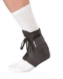 Mueller Sports Medicine Soft Ankle Brace with Straps
