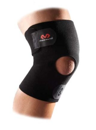 McDavid Adjustable Knee Wrap With Open Patella