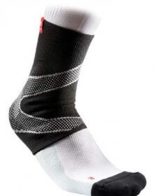 McDavid Ankle Sleeve / 4-Way Elastic With Gel Buttresses