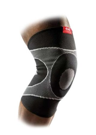 McDavid Knee Sleeve / 4-Way Elastic With Gel Buttress