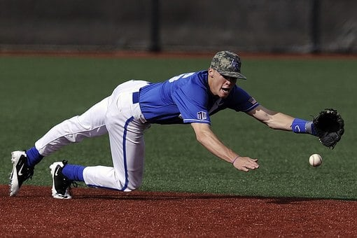 Wearing an ankle brace for baseball will mitigate the risks to the joint from the sudden twists, turns and lunges involved in the sport