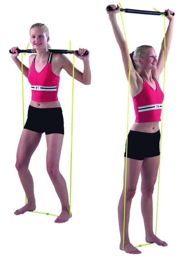 CanDo® Padded Exercise Bar