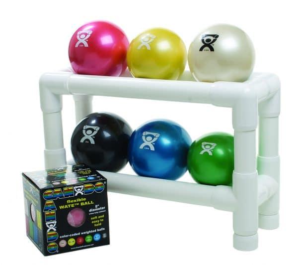 CanDo® PVC WaTE™ Ball Rack