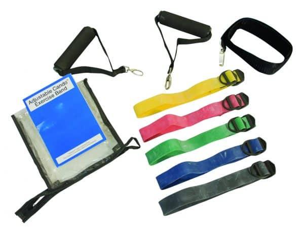 CanDo® Adjustable Exercise Band Kit