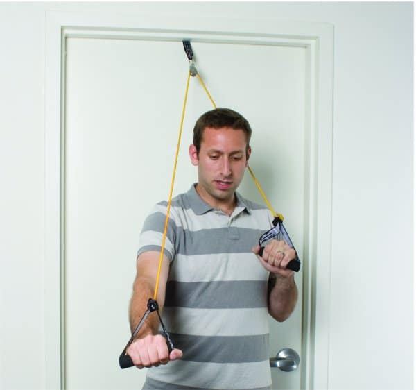 CanDo® Shoulder Pulley with Exercise Tubing and Handles