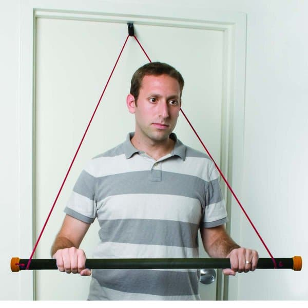 CanDo® Over Door Exercise Bar & Tubing