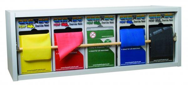 CanDo® Dispens-A-Band® Exercise Band Rack