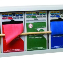 CanDo® Dispens-A-Band® Exercise Band Rack