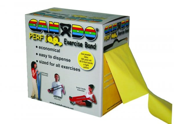 CanDo® Low Powder Exercise Band