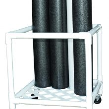 CanDo® Foam Roller Upright Storage Rack