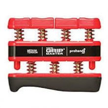 CanDo® Grip-Master® hand exerciser- Red
