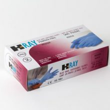 Wayne Safety HRay Vinyl Medical Examination Gloves