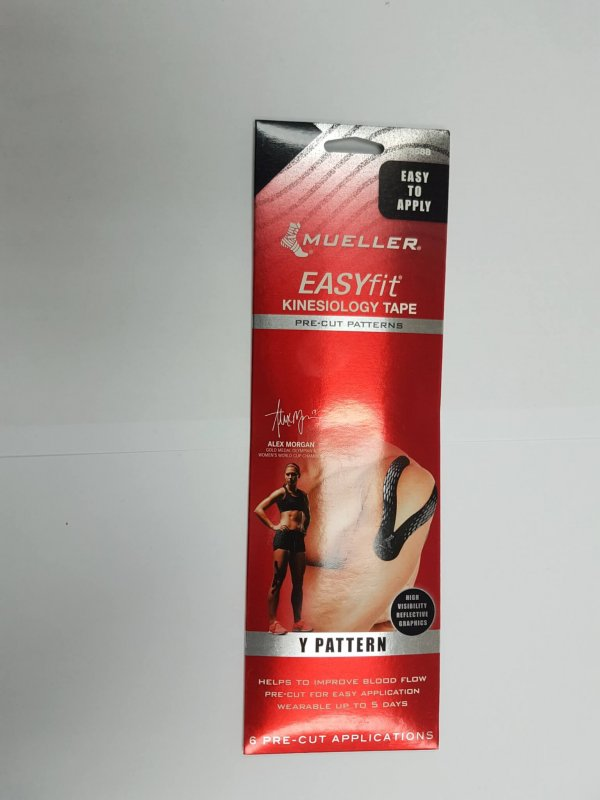 Mueller Sports Medicine EasyFit Kinesiology Tape - Y Pattern