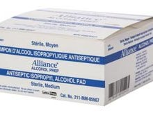 Alliance Antiseptic Isopropyl Alcohol Pads