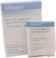 Alliance Cotton Tipped Applicators