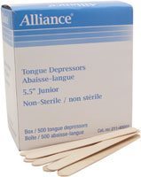 Alliance Tongue Depressors