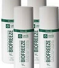 BioFreeze Professional – 3 oz Roll On (Pack of 4)
