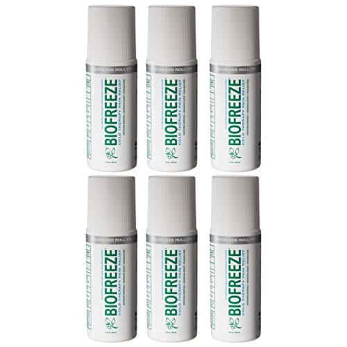 BioFreeze Professional – 3 oz Roll On (Pack of 6)