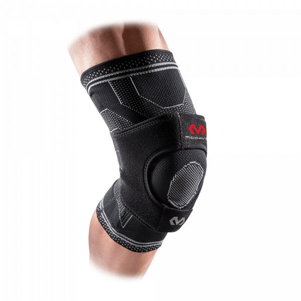 McDavid Elite Engineered Elastic Dual Wrap Knee Brace w/ Support Stays