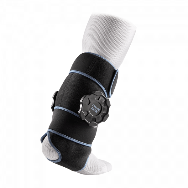 Rear View of McDavid True Therapy Ankle Wrap