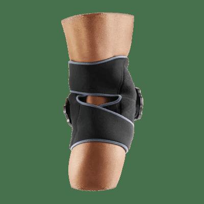 Rear View of McDavid True Ice Knee/Leg Wrap