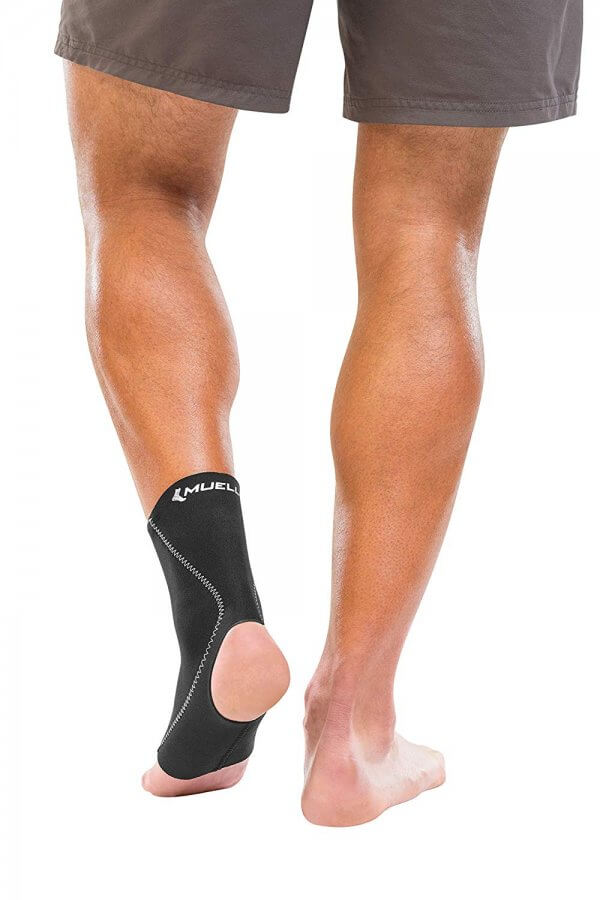 Mueller Sports Medicine Ankle Support - Rear View