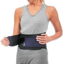 Mueller Sports Medicine Adjustable Back Brace with Lumbar Pad