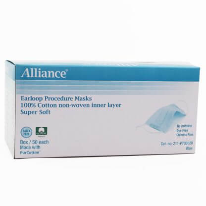 Alliance Procedure Face Masks with Earloop