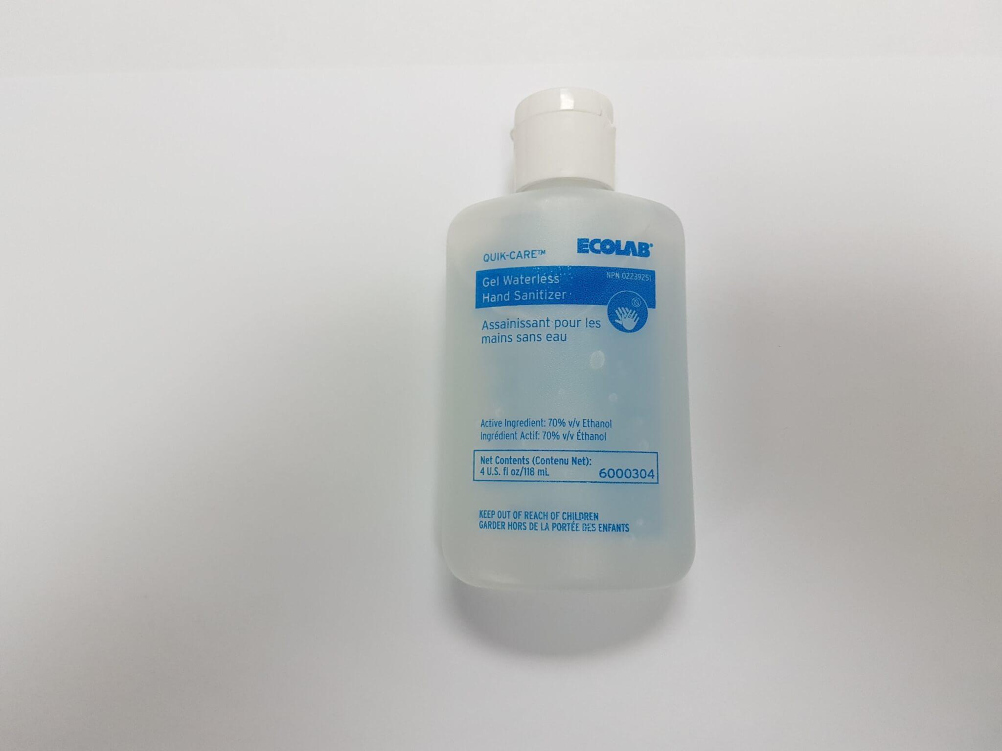 EcoLab Quik-Care Hand Sanitizer