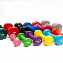 Vinyl Dipped Dumbbells